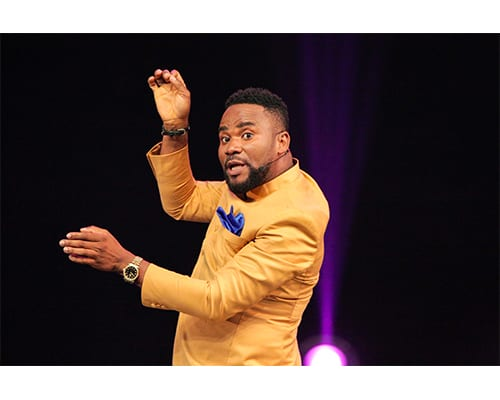 Boukary roi de l'humour ivoirien